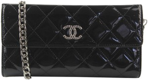 Chanel Classic Flap Wallet with Chain Added