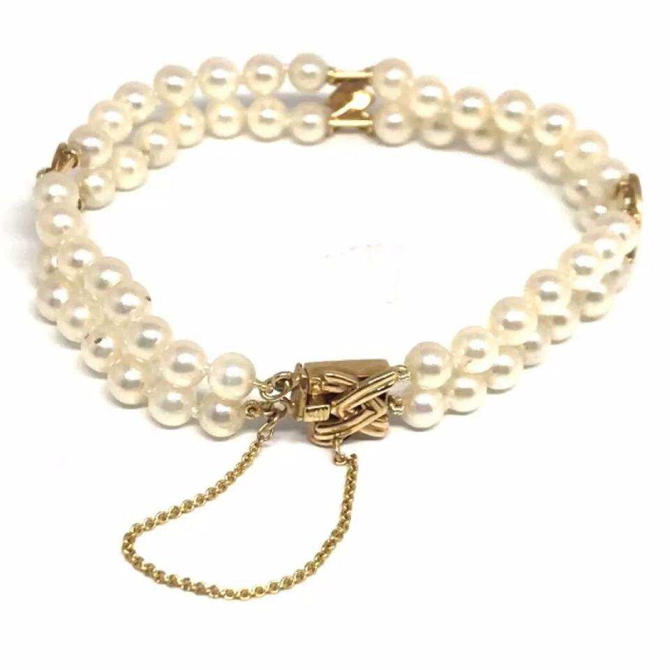 strand graduated product necklace mikimoto pearls pearl