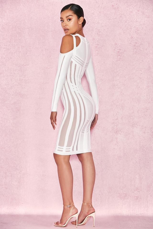 409d747b992 House of CB White Madrina Mid-length Night Out Dress Size 2 (XS ...