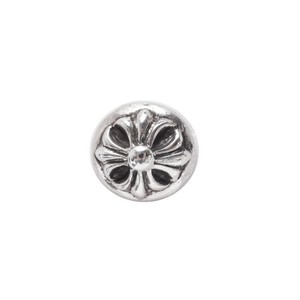 Chrome Hearts CH CROSSBALL STUD EARRING