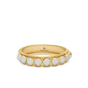 Tory Burch stone hinge bangle
