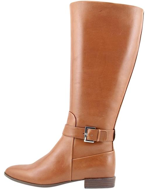 brown-mid-calf-boot Boots/Booties Size