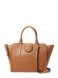 Marc by Marc Jacobs Leather Designer Tote in Maple Tan