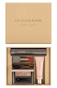 Burberry BURBERRY FESTIVE BOX ~FRESH GLOW+EYE SHADOW +LIP VELVET+CAT LASHES