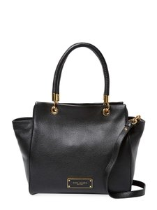 Marc by Marc Jacobs Leather Designer Satchel in Black