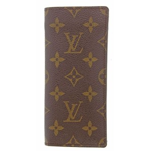 Louis Vuitton Authentic Louis Vuitton Monogram Etui a Lunettes Simple Eyeglass Case