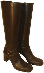 Ann Taylor Leather Brown Boots