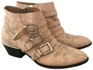 Chlo Pink Boots