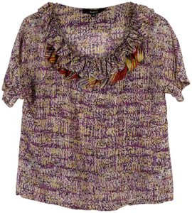 SUNO Top patterned