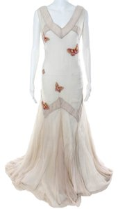 koi suwaanagate Silk Butterfly Wedding Gown Dress