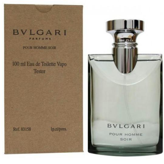 bvlgari pour homme soir by edt 100 ml tester italy. Black Bedroom Furniture Sets. Home Design Ideas