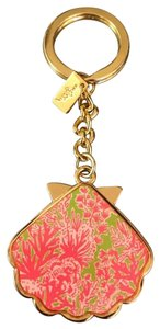Lilly Pulitzer Lilly Pulitzer Pink Gold Key Ring Chain
