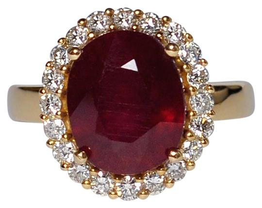 Preload https://img-static.tradesy.com/item/22565283/ny-collection-yellow-womens-oval-cut-ruby-diamond-gemstone-cocktail-halo-14k-gold-ring-0-1-540-540.jpg
