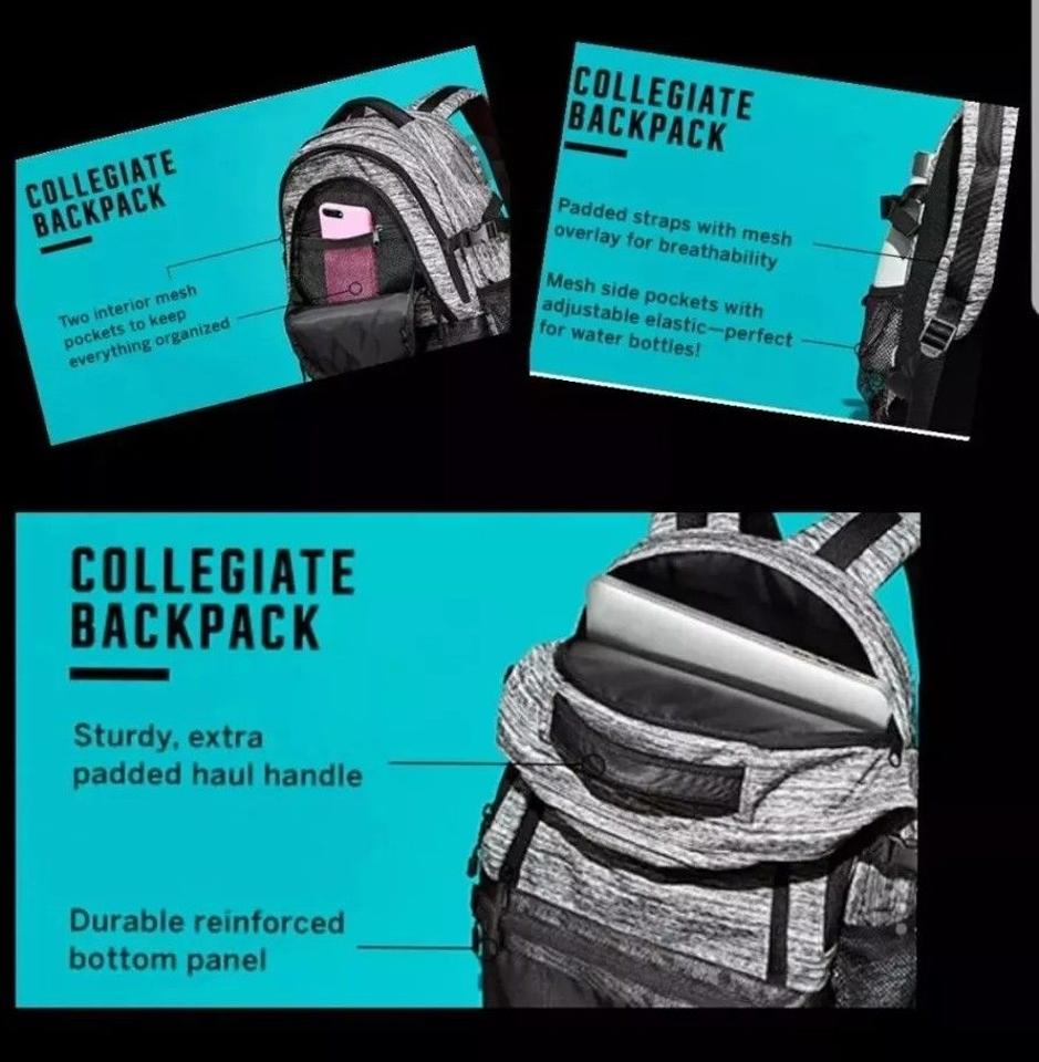f27d345a2c Pink Collegiate Backpack Review