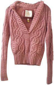 American Eagle Outfitters Sexy Sweater Collared Sweater Thick Sweater Pockets Wool Sweater Sweatshirt
