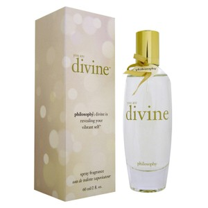 Philosophy di Lorenzo Serafini YOU ARE DIVINE BY PHILOSOPHY-WOMEN-EDT-2 OZ-60 ML-MADE IN USA