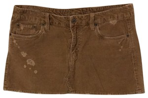 American Eagle Outfitters Mini Skirt tan