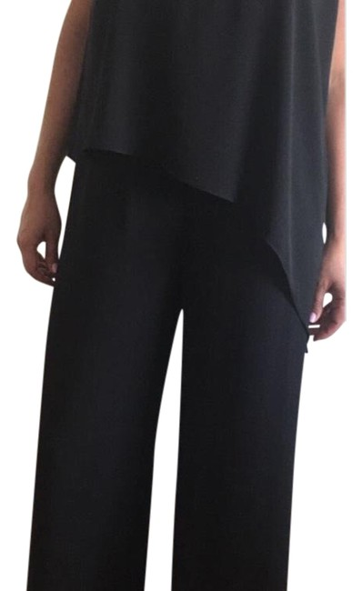 Item - Black New Overall Polyester Pant Suit Size 8 (M)