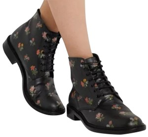 d26c20bdb4 Saint Laurent Lolita 20 Lace-up In Black and Multicolor Prairie  Boots/Booties Size EU 39.5 (Approx. US 9.5) Regular (M, B) 56% off retail