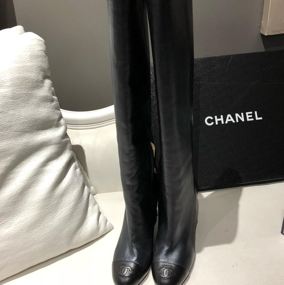 chanel boots 2017