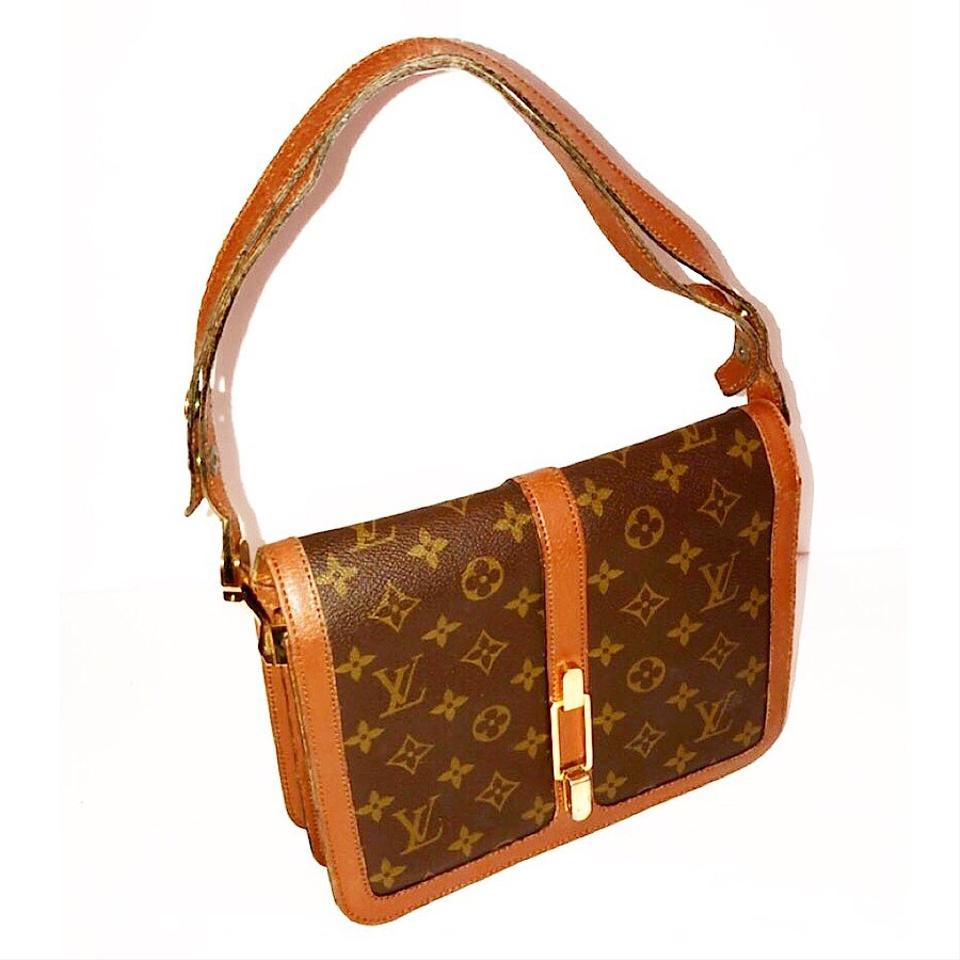 louis vuitton vintage monogram rond point shoulder bag tradesy. Black Bedroom Furniture Sets. Home Design Ideas