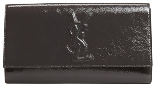 Saint Laurent Olive Gray Clutch