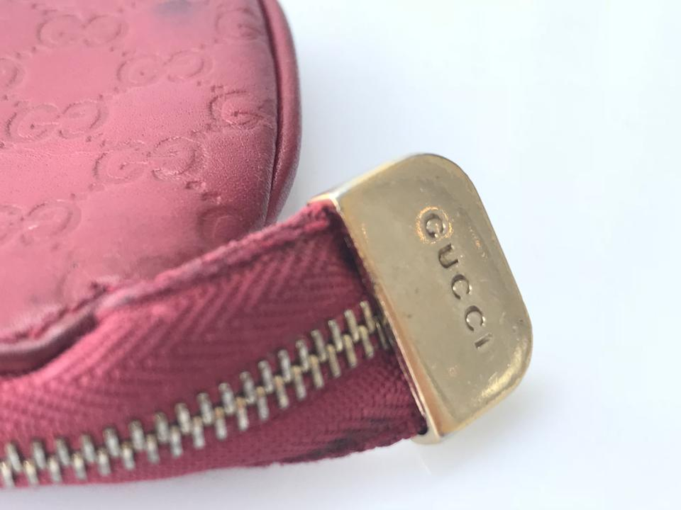 173a2aaab36 Gucci Berry Red Micro Guccissima Key Coin Pouch Wallet - Tradesy