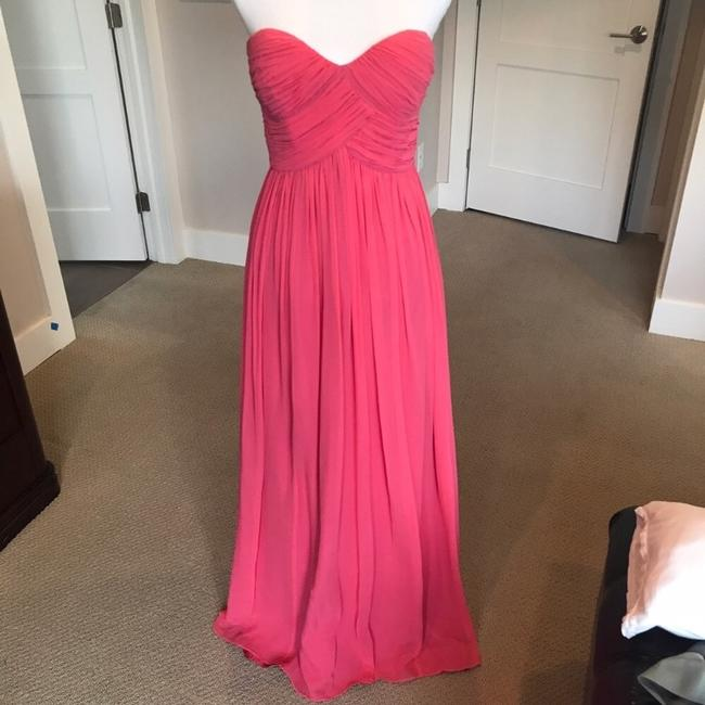Item - Strapless Sweetheart Gown Formal Bridesmaid/Mob Dress Size 4 (S)