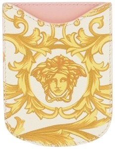 Versace Cell Card Case Mini Wallet Money Holder iPhone Leather