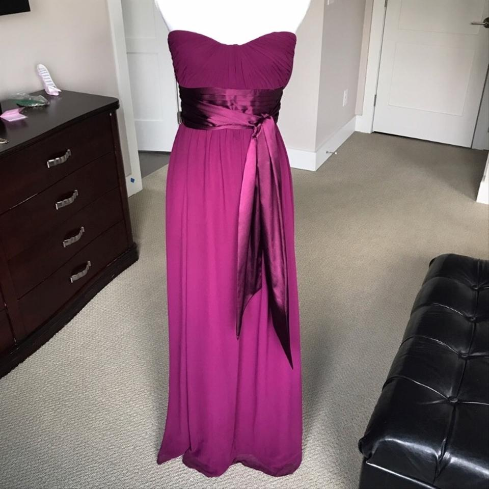 Bill Levkoff Sangria Gown Formal Bridesmaid/Mob Dress Size 4 (S ...