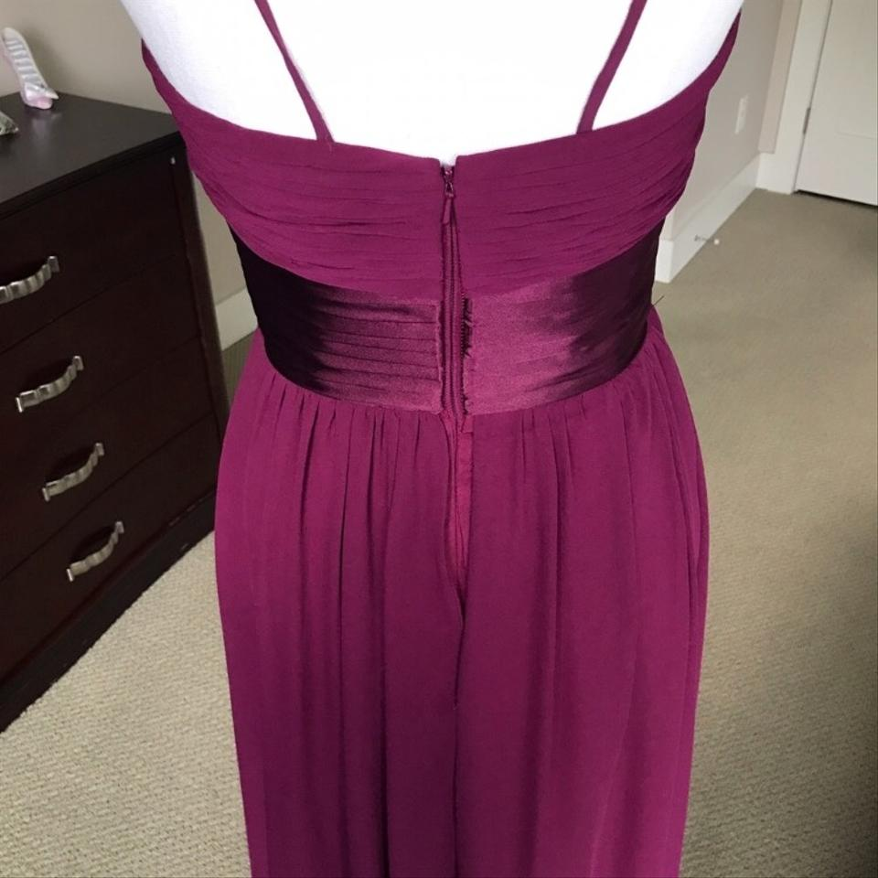 ecde6cc56ac Bill Levkoff Sangria Gown Formal Bridesmaid Mob Dress Size 4 (S) Image 7.  12345678