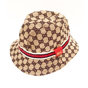 9b5b05579 Gucci Monogram GG Bucket Hat