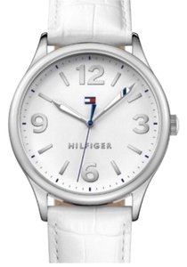Tommy Hilfiger Tommy Hilfiger 38mm Silver and White Logo Watch