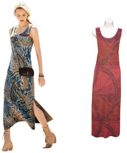 Rust Maxi Dress by Peruvian Connection
