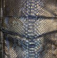 Python Snake Tote in blue Image 5