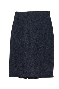 Nanette Lepore Tweed Pencil Skirt Blue