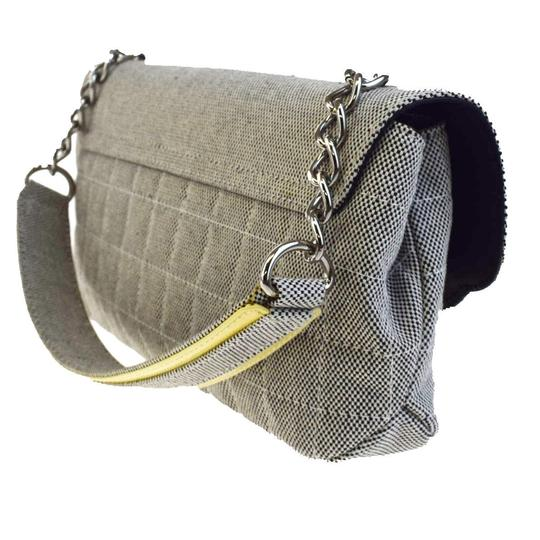 e27afd2882de Can Chanel Bags Be Made In Italy. Chanel Black Leather Triple COCO Shoulder  Bag - Tradesy Chanel Gray Canvas Patent Lather No.5 Camellia ...