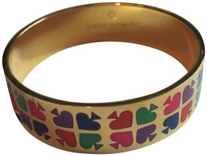 Kate Spade New Kate Spade Play Your Cards Right Bangle Colorful Playful