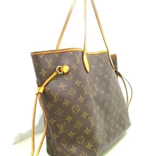 Louis Vuitton Neverfull Azur Ebene Speedy Damier Tote in Brown Image 10