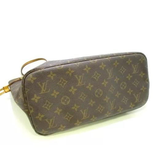 Louis Vuitton Neverfull Azur Ebene Speedy Damier Tote in Brown Image 11