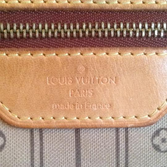 Louis Vuitton Neverfull Azur Ebene Speedy Damier Tote in Brown Image 4