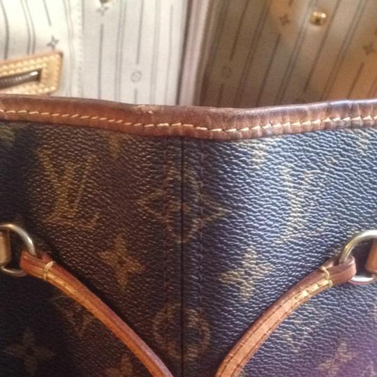 Louis Vuitton Neverfull Azur Ebene Speedy Damier Tote in Brown Image 6