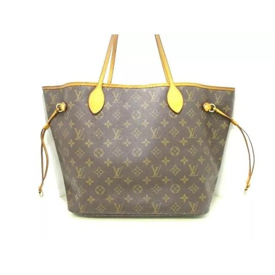 Louis Vuitton Neverfull Azur Ebene Speedy Damier Tote in Brown Image 9