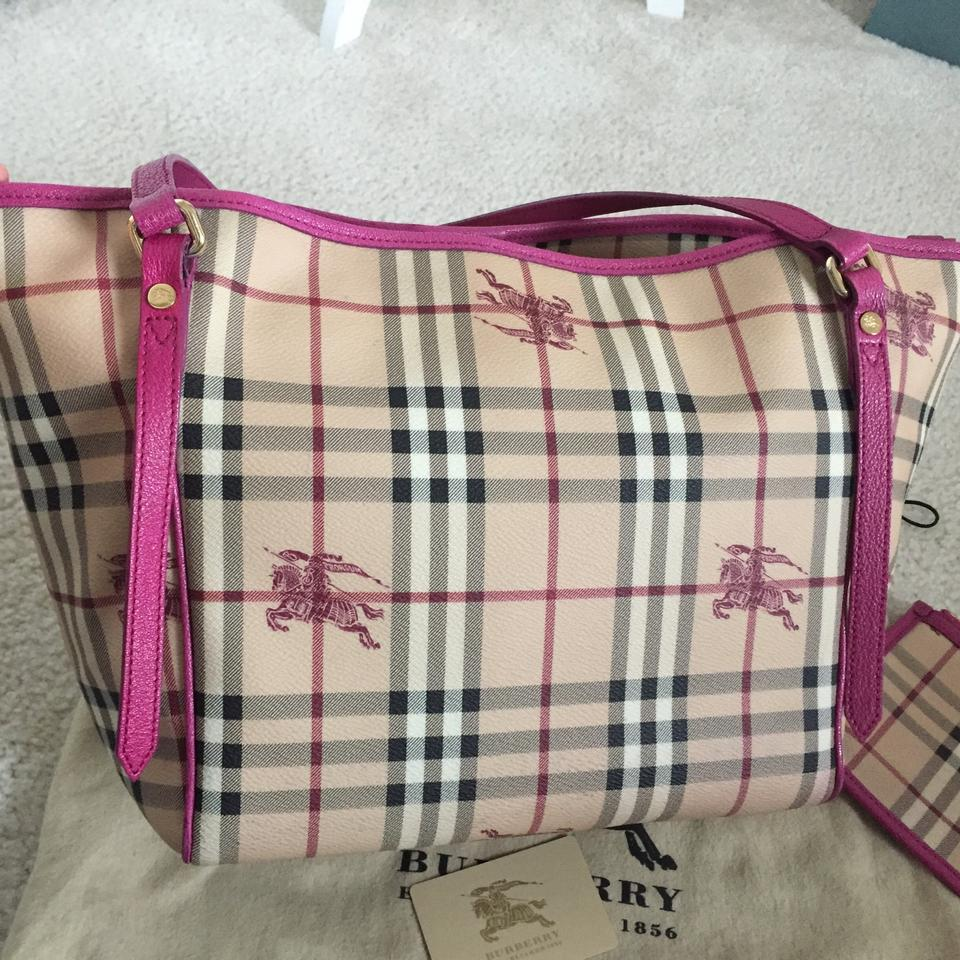 765ff36ad Burberry Haymarket Tote Pink | City of Kenmore, Washington