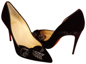 300ac916762 Christian Louboutin Black Miss Benin Platforms Size US 9.5 Regular ...