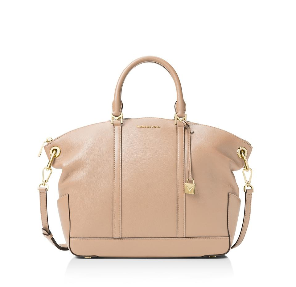 13956c5f6274 Michael Kors Beckett Large Oyster Leather Satchel - Tradesy