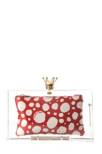 Charlotte Olympia Lucite Clutch