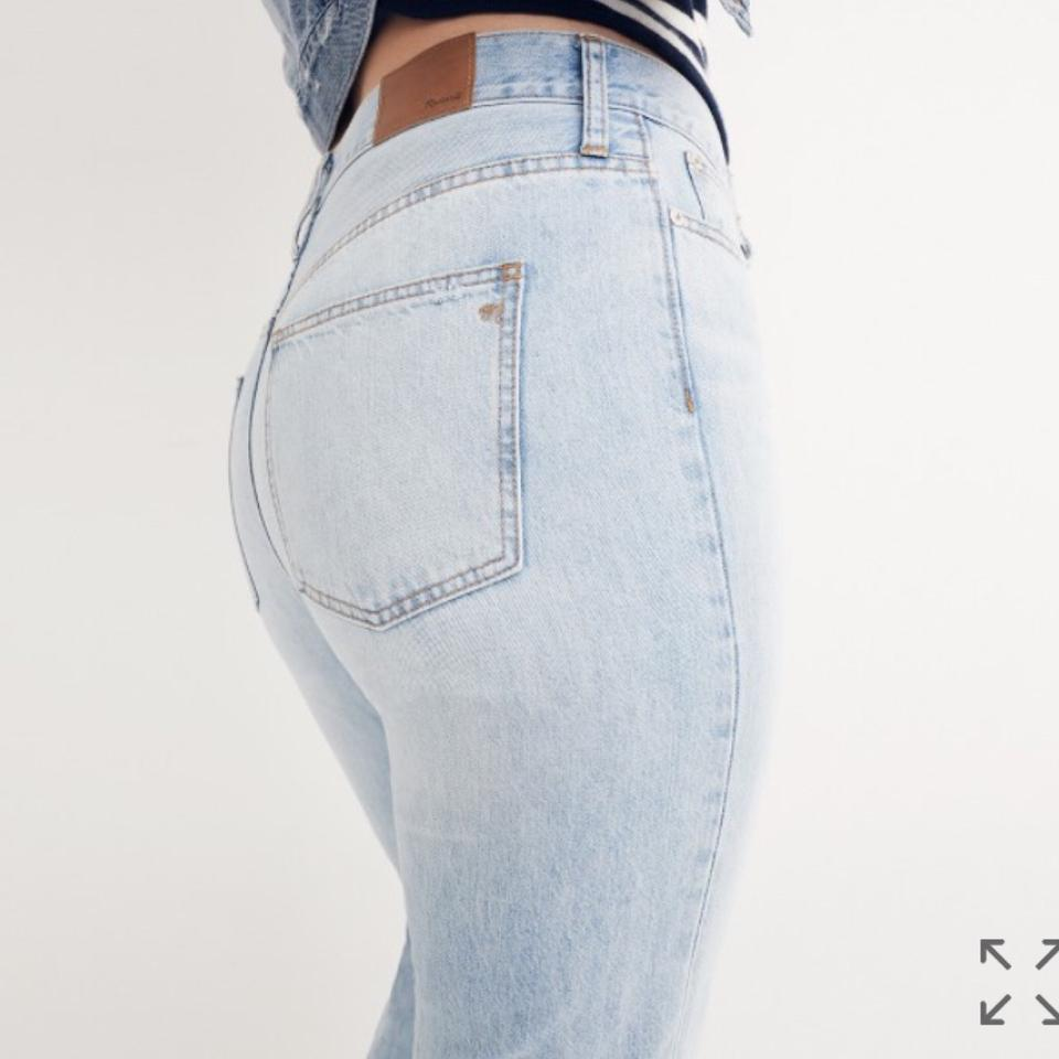 9a599325a59 Madewell Fitzgerald Wash Light The Perfect Summer Straight Leg Jeans ...