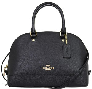 Coach Shoulder Strap Classic Dome Gift Receipt Leather Cross Body Bag