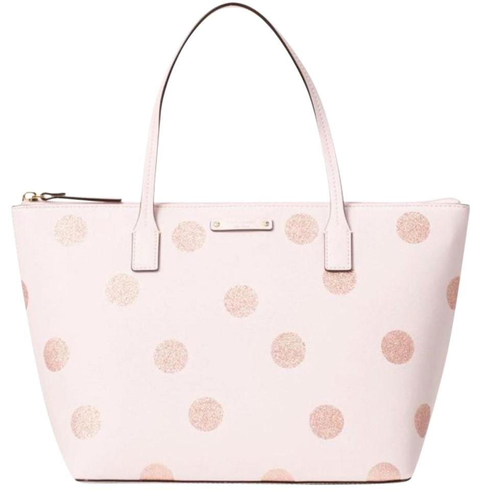 Kate Spade Polka Dot L 28 Images New York Giana Pink Vinyl Hani Glitter Tote
